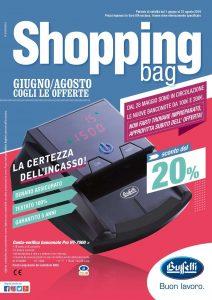shopping bag buffetti giugno-agosto 2019